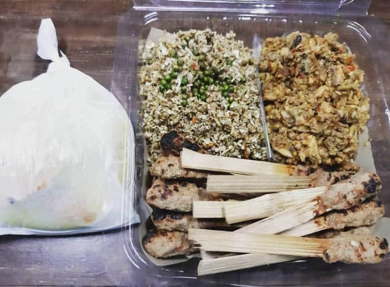 nasi lawar khas bali