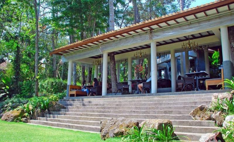 restaurant bernuansa alam di Bali