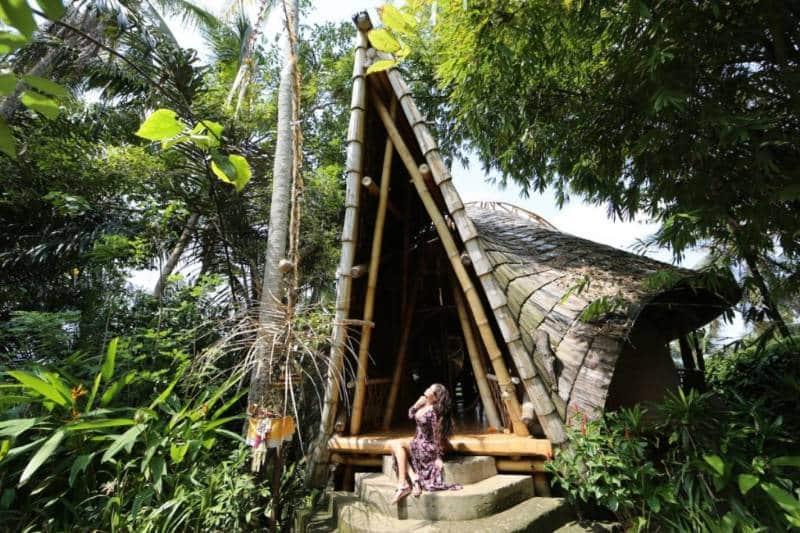 penginapan rumah kayu di indonesia