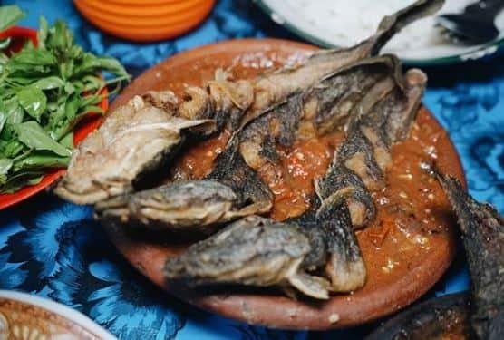 pecel lele  enak di surabaya