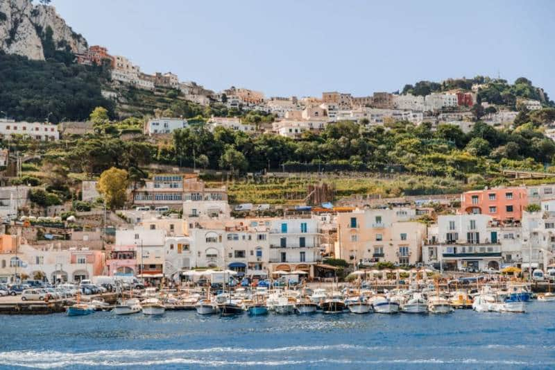 Pulau Capri 1024x683 - Italia Terkenal Dengan Romantis dan Instagramable
