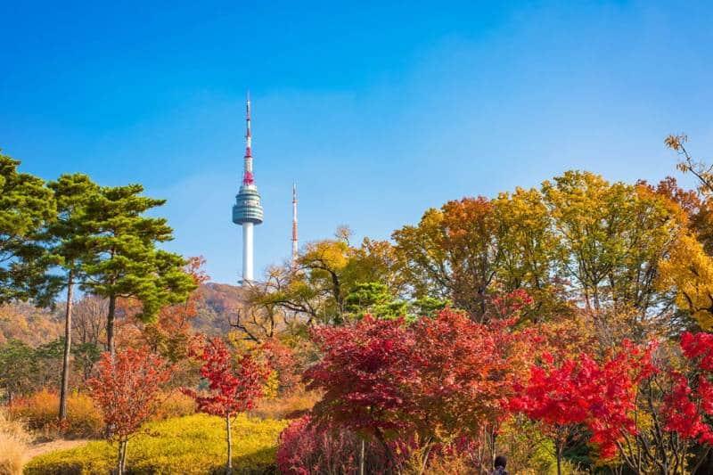 musim gugur di korea selatan