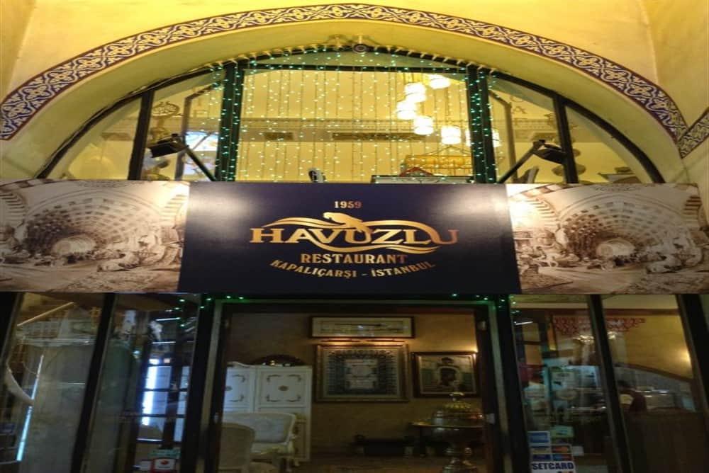 makanan enak di Grand Bazaar
