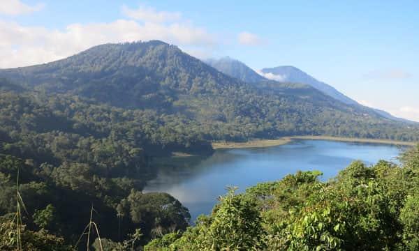 jalur pendakian di Bali