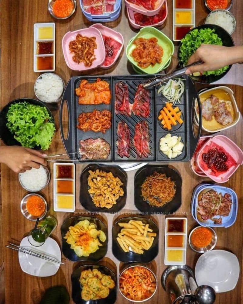 all you can eat terkenal di makasar