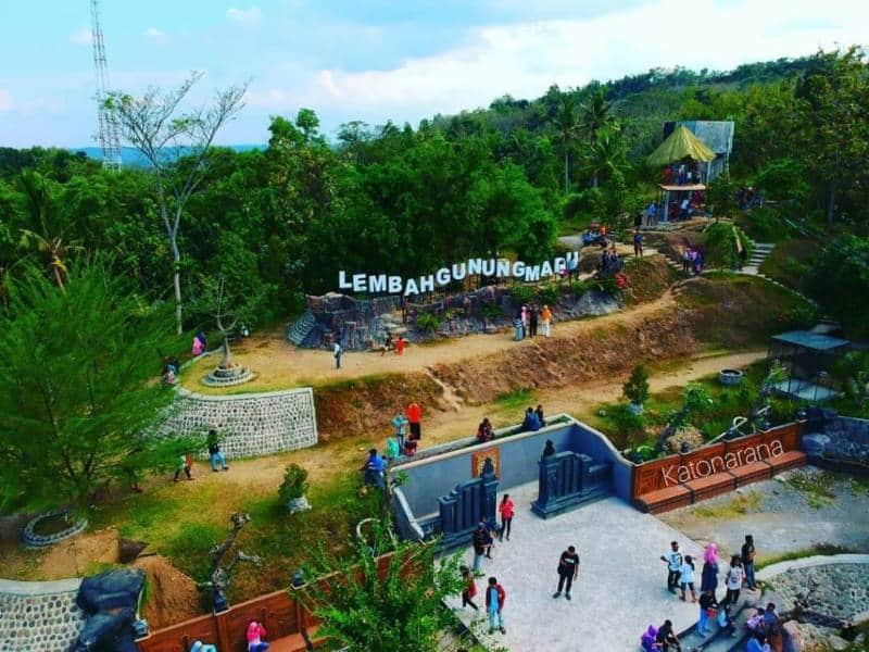 lembah paling indah di Indonesia