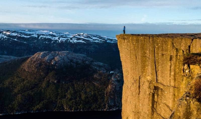 wisata alam di norwegia