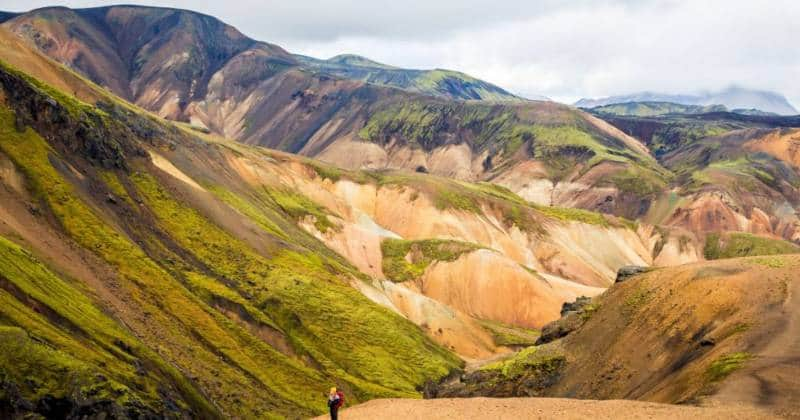 taman nasional landmannalaugar