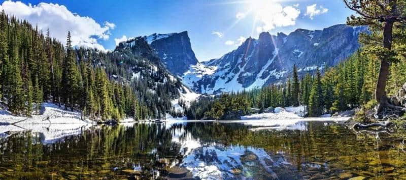 taman nasional pegunungan rocky