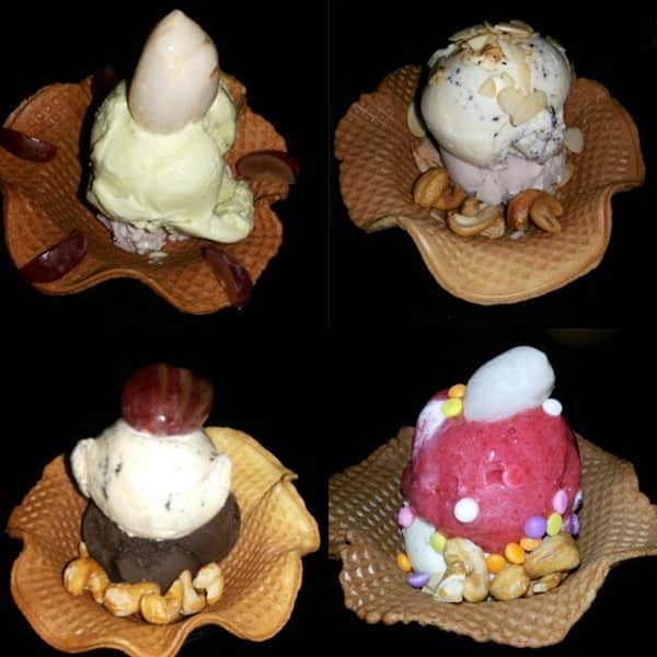 gentoos ice cream bar