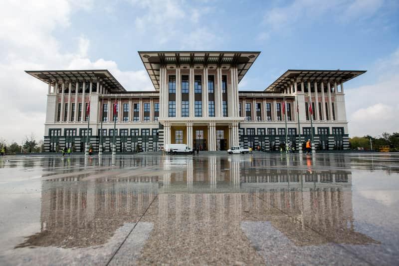 palace of turkish president