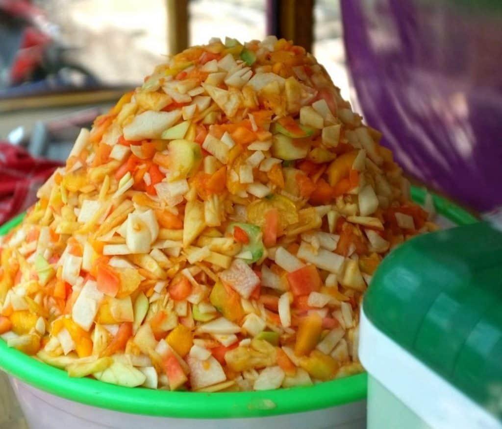 Rujak Es Krim paling enak di Jogya