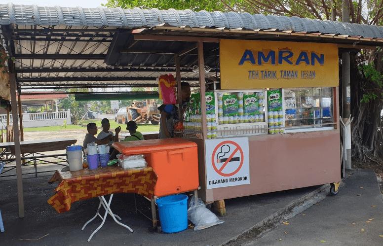 kedai Teh Tarik  [populer di Malaysia