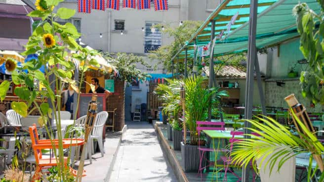 Outdoor Cafe Paling Menarik di Paris
