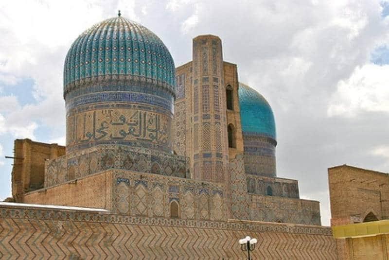 Masjid tua bersejarah di Uzbekistan