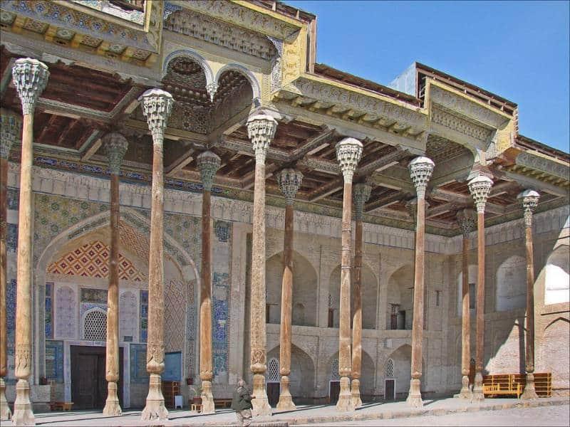 Masjid tua di Uzbekistan