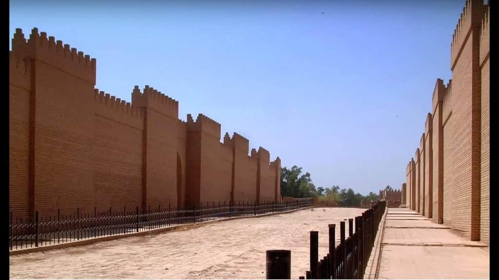 tembok babylonia