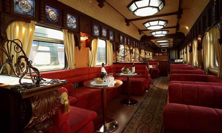 the golden eagle train