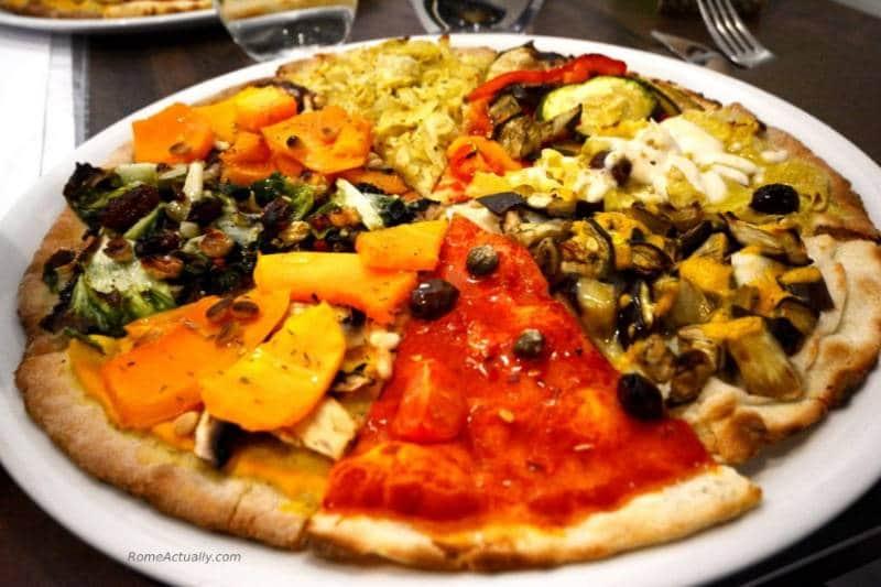 vegan food in roma