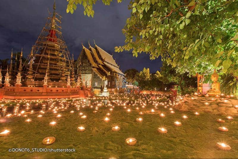 candi di Chiang Mai