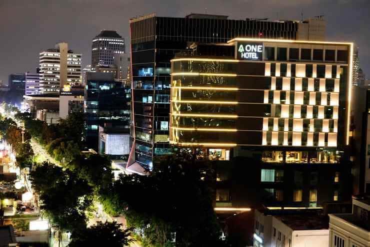 Hotel di Jalan Jaksa Jakarta