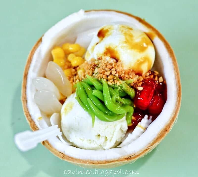 coconut ice cream thailand