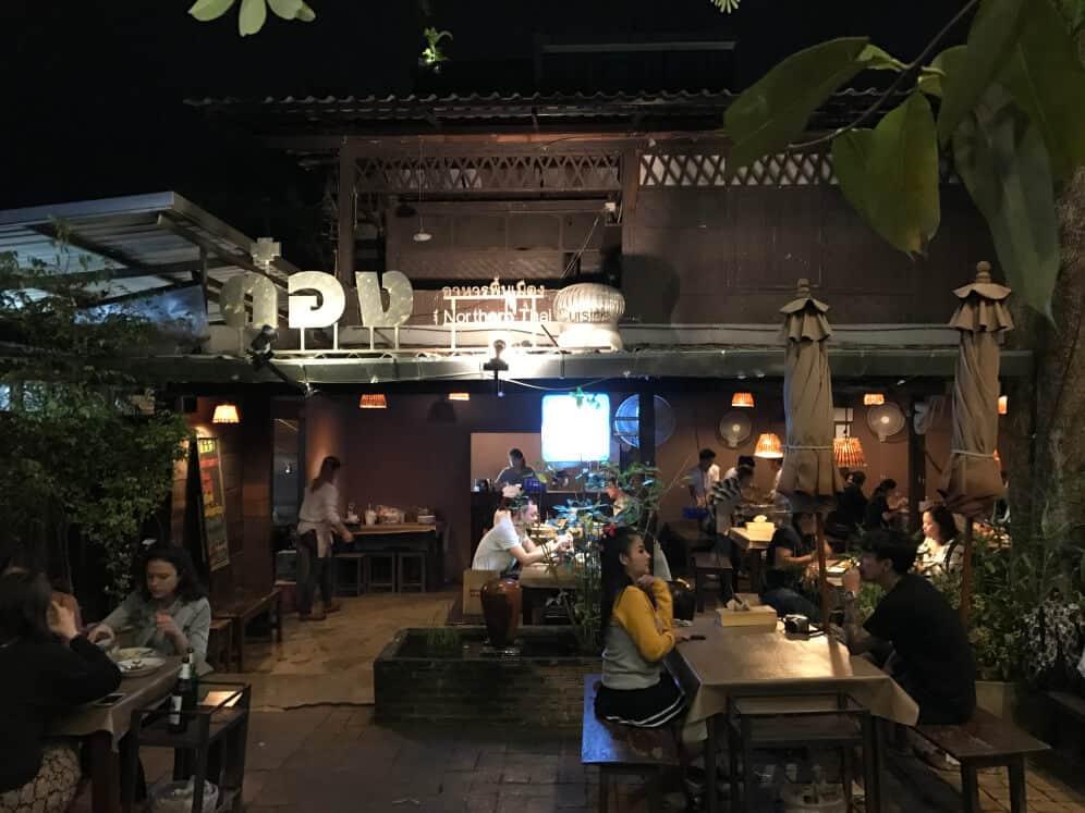 rekomendasi restoran terkenal  di Chiang Mai
