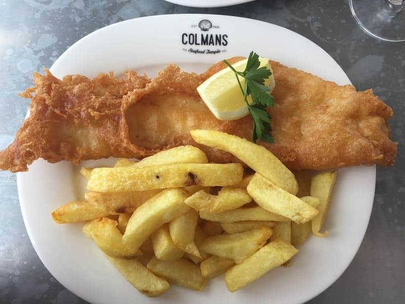 colman's fish and chips