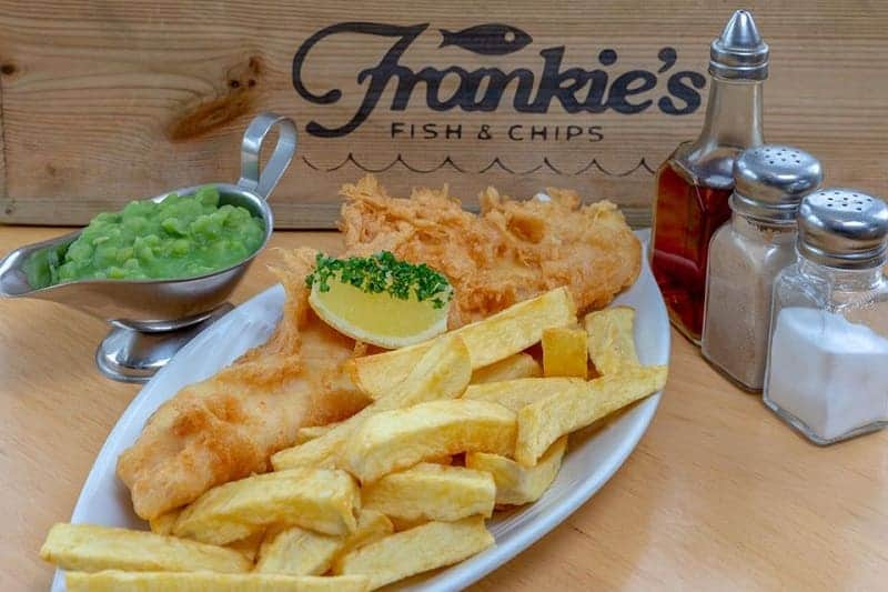 frankie's fish and chips