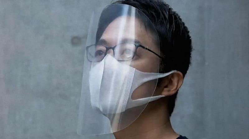 gunakan masker atau face shield