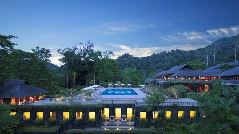 hotel ditengah hutan terkeren di dunia