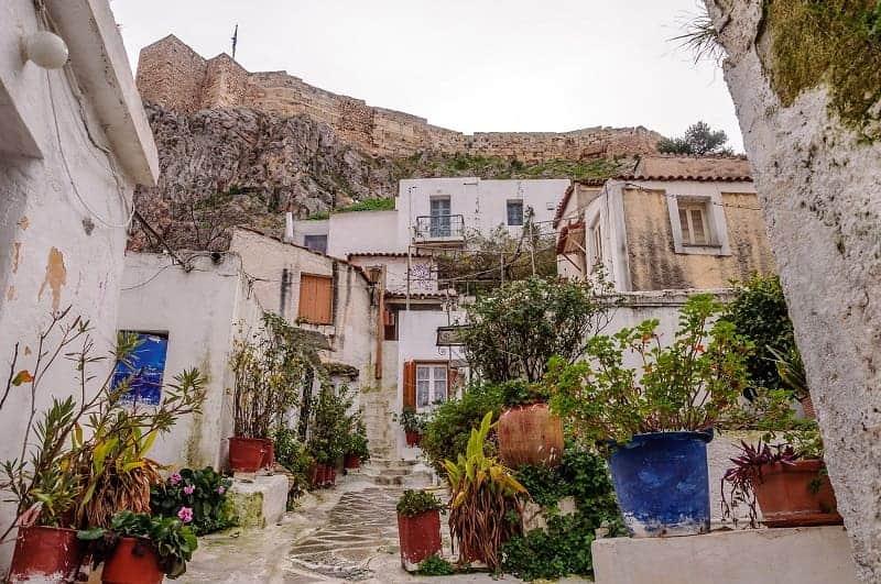 obyek Wisata di Athena