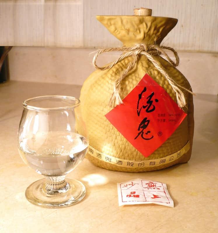 Minuman Khas China disajikan saat imlek
