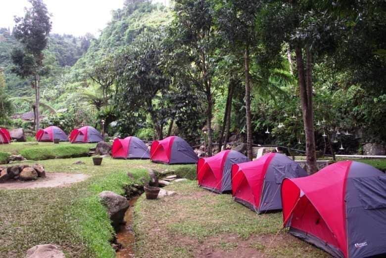 Tempat camping di Sukabumi untuk keluarga