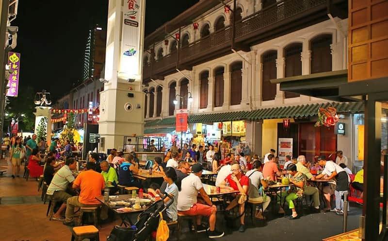 Tempat kuliner Malam di Singapura