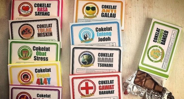 Coklat buatan Indonesia