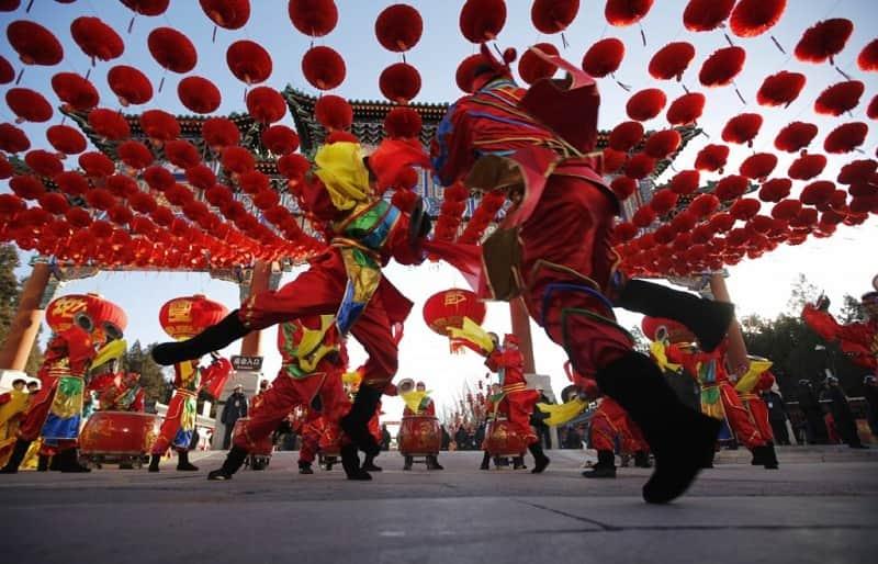 negara yang merayakan tahun baru china
