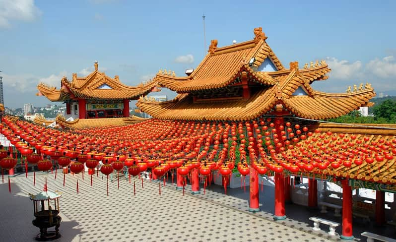 destinasi tahun baru china
