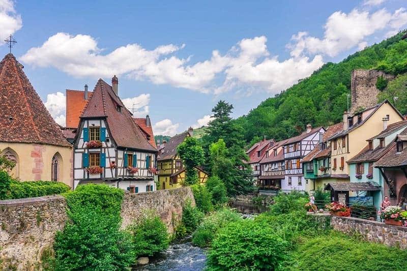 Kota wisata terkenal di Perancis