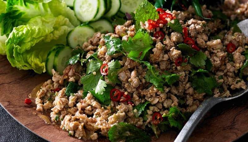 Salad Khas Negara Asia