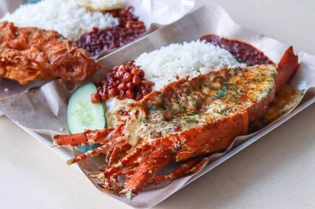 rekomendasi Nasi lemak enak di Singapura