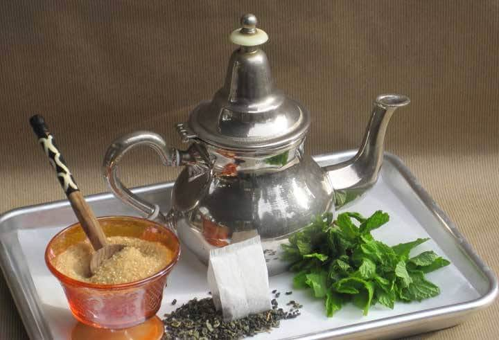 maghrebi mint tea