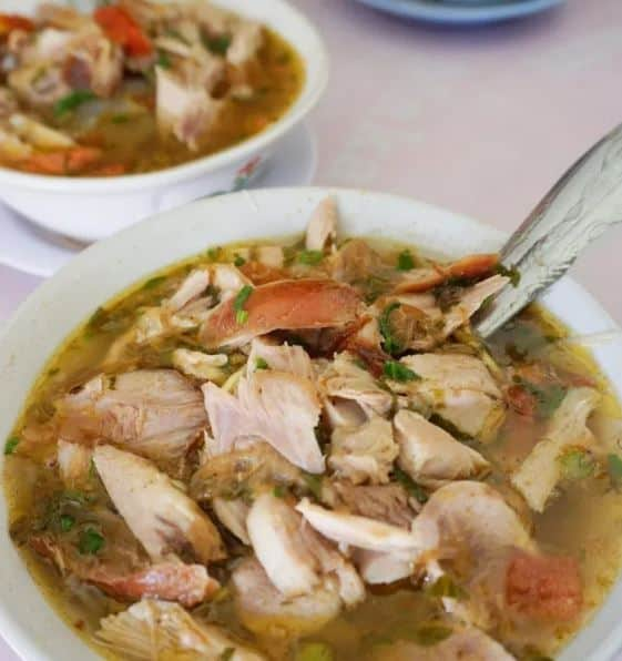 Mie Sop enak di Siantar