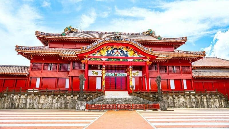 istana terkenal di Jepang