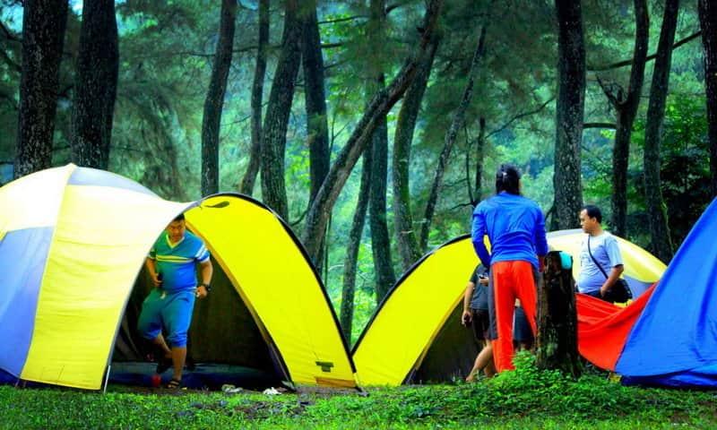 Tempat camping di Sukabumi