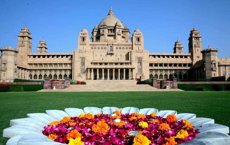 Istana di India