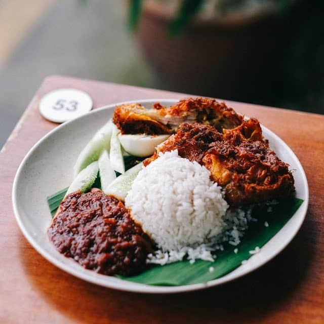 village nasi lemak