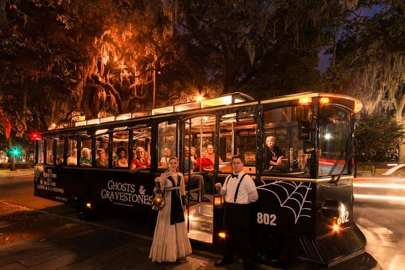 Ghost and Gravestones Trolley Tour