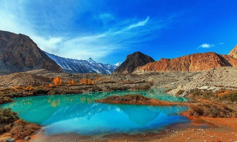 Lembah keren di Pakistan