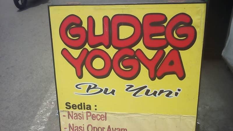 gudeg yogya bu yuni